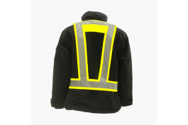 Light Vest EN471 met achterlicht fluor-yellow