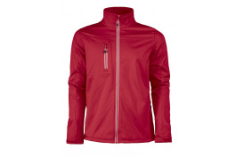 Softshell jas Printer Red Flag Vert