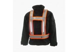 Light Vest basis RWS EN471  fluor-orange