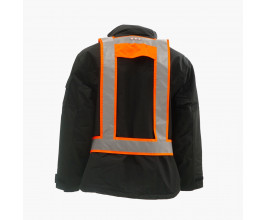 Light Vest RWS EN471 met achterlicht fluor-orange