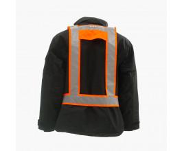 Light Vest RWS EN471 met achterlicht fluor-orange