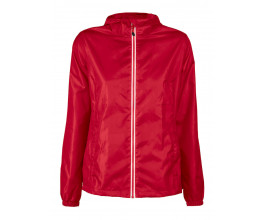 Windbreaker Printer Red Flag Fastplant Lady