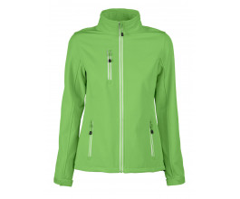 Softshell jas Printer Red Flag Vert Lady
