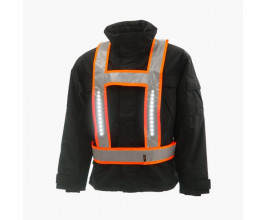 Lightvest basis EN471 fluor-orange