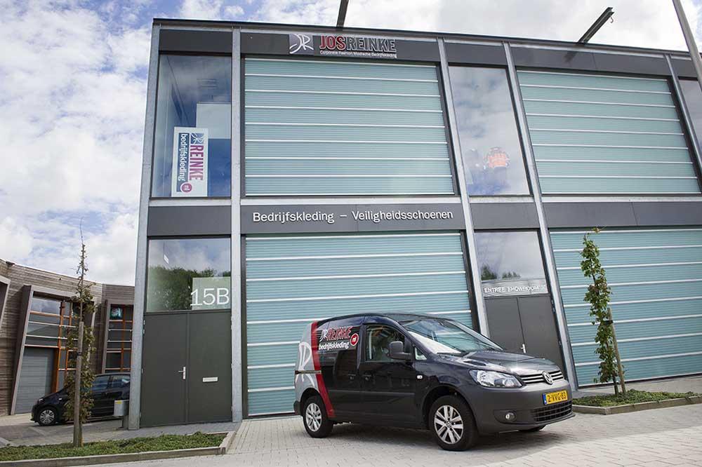 Showroom bedrijfskleding Utrecht